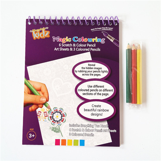 Scratch Color AcitIvity Book